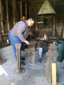 Meet Master Blacksmith Sam Smith of the Portland Forge during your next visit to the Museum.