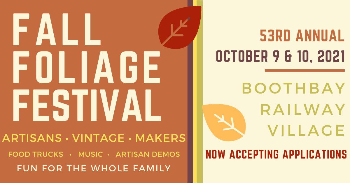 2021 Boothbay Fall Foliage Festival