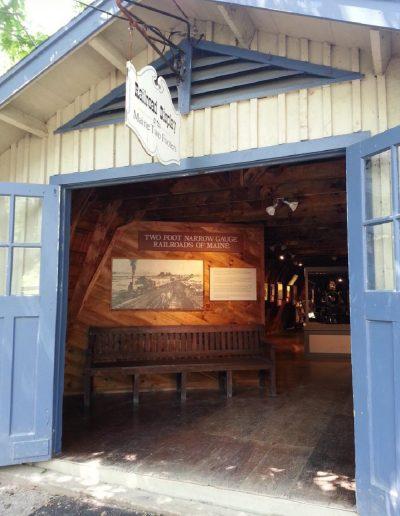 Doors to Narrow Gauge exhibit