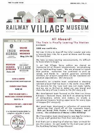 Village Voice Newsletter May 2021