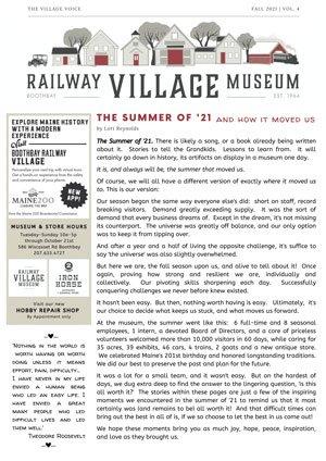 Village Voice Newsletter September 2021